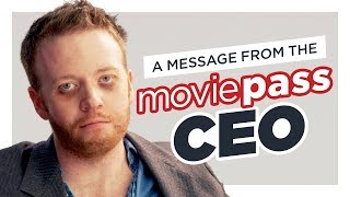 MoviePass CEO: PLEASE DON'T CANCEL