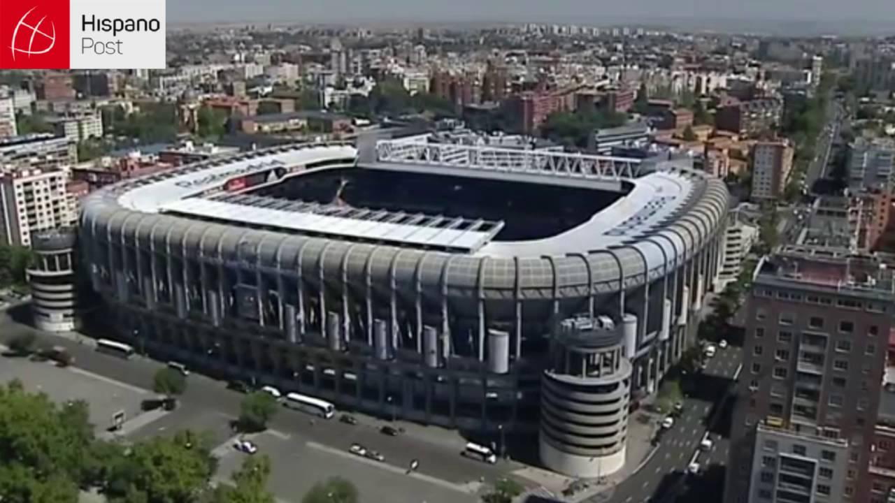 La remodelación del Santiago Bernabeu se prevé que inicie en 2017
