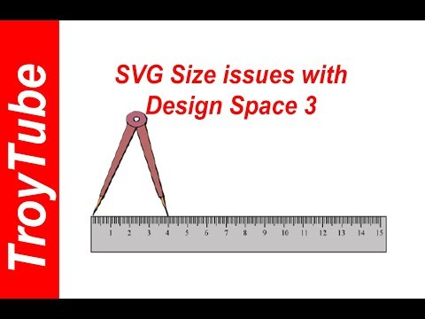 How to fix SVG import size issues with Design Space 3