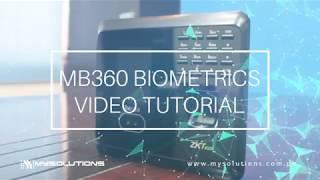 MB360 Face Biometrics - Video Tutorial (Part I)