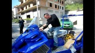 New Sherpa Ti VCT Utility Snowmobile Closeup Most Popular Videos - Alpina sherpa
