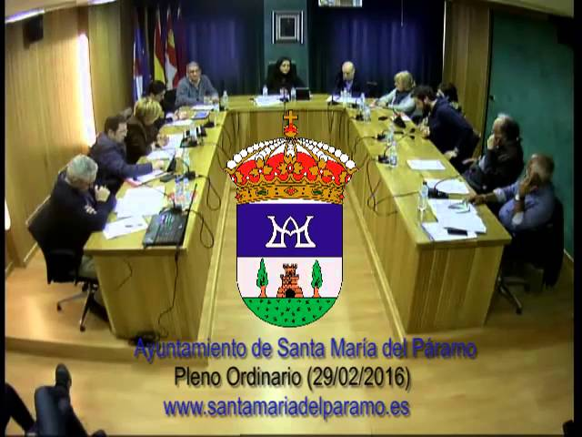 Pleno Ordinario (29-02-16)