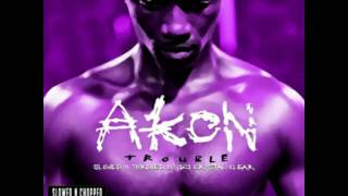 Akon - Show Out Slowed & Chopped by Dj Crystal clear