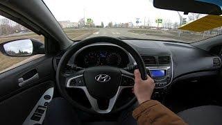 2013 Hyundai Solaris 1.6L POV Test Drive