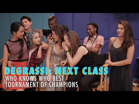 Degrassi: Next Class Who Knows Who Best Tournament Of Champions