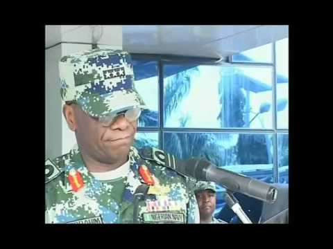 NIGERIAN NAVY LAUNCHES NEW CAMOUFLAGE UNIFORM