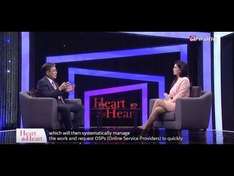 한국저작권보호원-아리랑TV Heart to Heart 인터뷰 영상