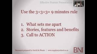 BNI Feature Presentation