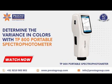 Spectrophotometer- TP800