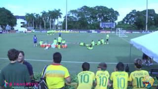 preview picture of video 'Brazil vs. Colombia - Treino da Seleção Brasileira  em Miami com Neymar'