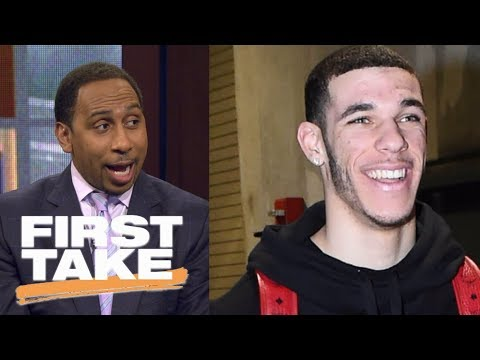 Stephen A. Smith finally impressed with Lonzo Ball   First Take   ESPN
