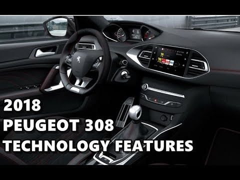 2018 Peugeot 308 Technology Features