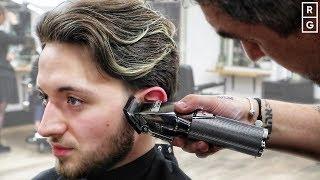 Mens Medium Length Haircut Tutorial | How To Style Medium Length Hair Men