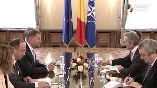 Preşedintele Iohannis subliniază că parcursul european reprezintă singura cale viabilă pentru viitorul Republicii Moldova