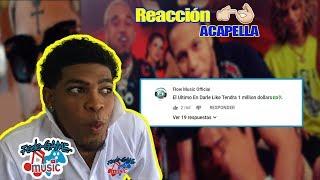 REACCION - Bryant Myers ft. El Alfa, Jon Z, Myke Towers, Almighty - Acapella