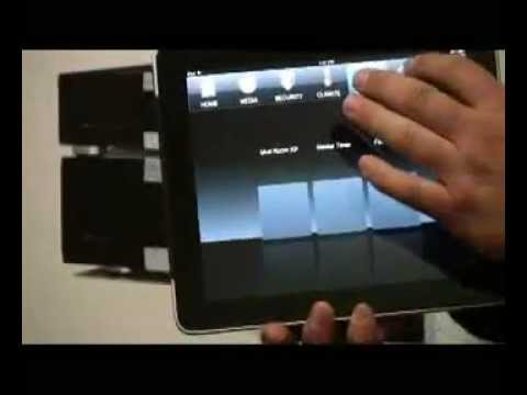 Home Automation ELAN g! iPad