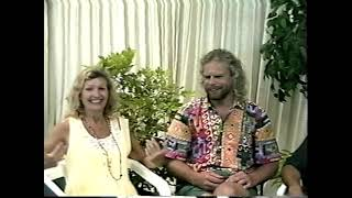John De Ruiter         with Airielle and Jason on Maui – John Lives Truth 1995