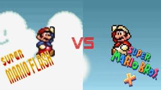 SUPER MARIO FLASH COMPARISON | ORIGINAL VS REMAKE
