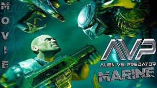 Aliens Vs Predator 3  Historia Marine  La Pelicula Full Español  HD 720p ᴴᴰ  Movie Game