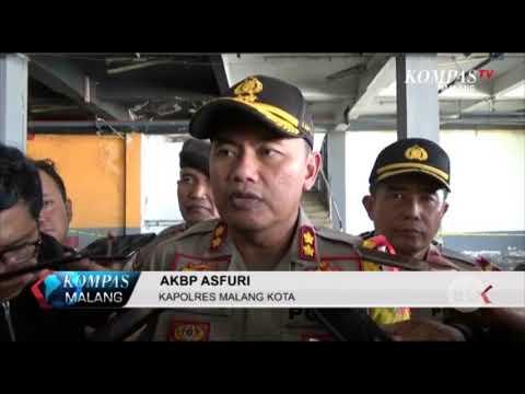Polisi Lakukan Olah TKP Kasus Mutilasi di Pasar Besar Kota Malang