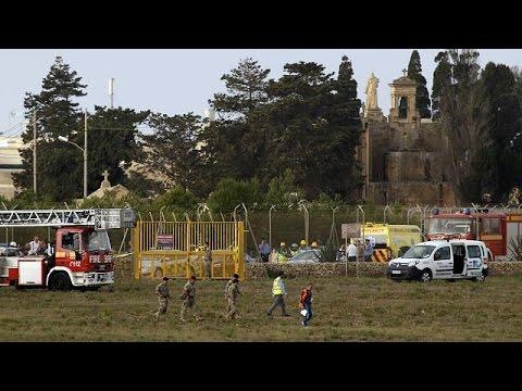 مقتل 5 أشخاص في تحطم طائرة بمالطا