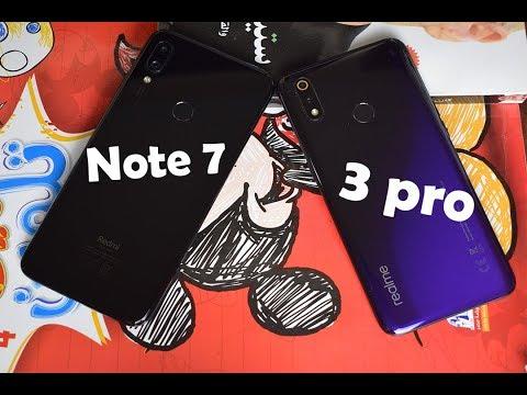 Realme 3 pro Vs Xiaomi Note7 || مين هيكسب في المقارنة