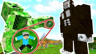 minecraft creeper titan