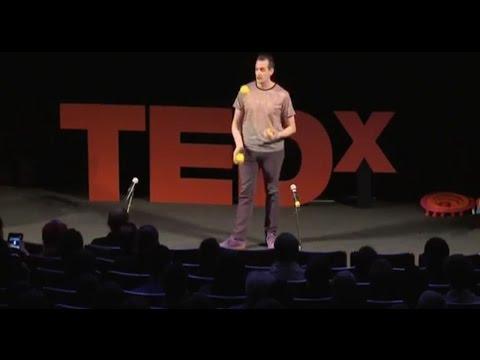 The Evolution of Juggling   Jay Gilligan   TEDxHelsinki