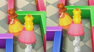Mario Party 10 - Daisy vs Peach - Mushroom Park