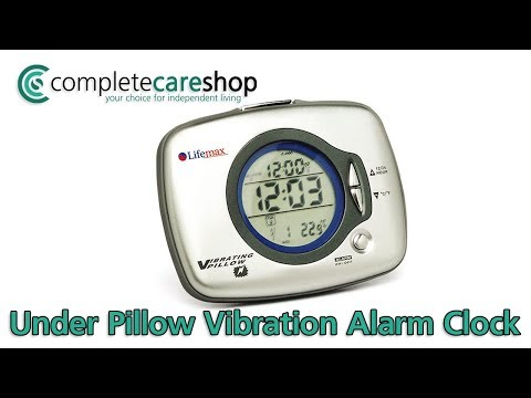 Features Both Vibration And Sound Alarms For Deep Sleepers