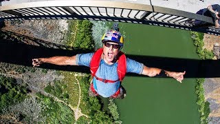 Miles Daisher sets World Record with 63 BASE Jumps...