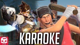 Tracer vs Scout Rap Battle KARAOKE by JT Music