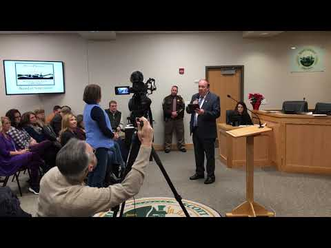 Video: Scott E911 director honored for service
