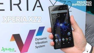 Xperia XZ2, PRIMERAS IMPRESIONES y PRECIO en México