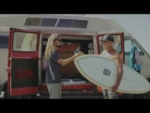 Reef Redemption – Making Use of Everything: Rob Machado's Eco Surfboard