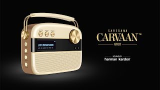 Buy Saregama Carvaan GOLD with iconic Harman Kardon sound