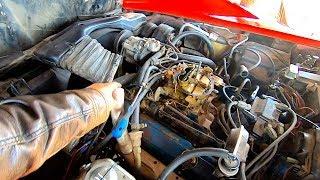 45K Mile 1980 Corvette - Diagnosing Engine Misfire + Tune up + Test Drive