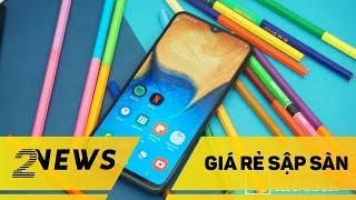 Smartphone Samsung Galaxy A giá RẺ NHẤT, pin KHỔNG LỒ lộ diện I HiNews