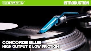 Reloop Concorde Blue cartridge: High output and low friction