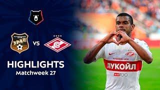 Highlights FC Ural vs Spartak (0-1)