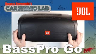 The most unbelievable subwoofer ever JBL BassPro Go Car Stereo Lab