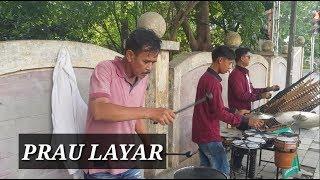 PRAU LAYAR - Pengamen Jalanan Kreatif Angklung Arip Jaya