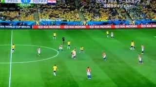 W杯2014ブラジルvsクロアチアダイジェスト