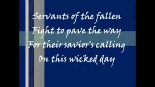 In the Presence of Enemies: The Heretic and the Dark Master Part 1 - Dream Theater - Lyrics