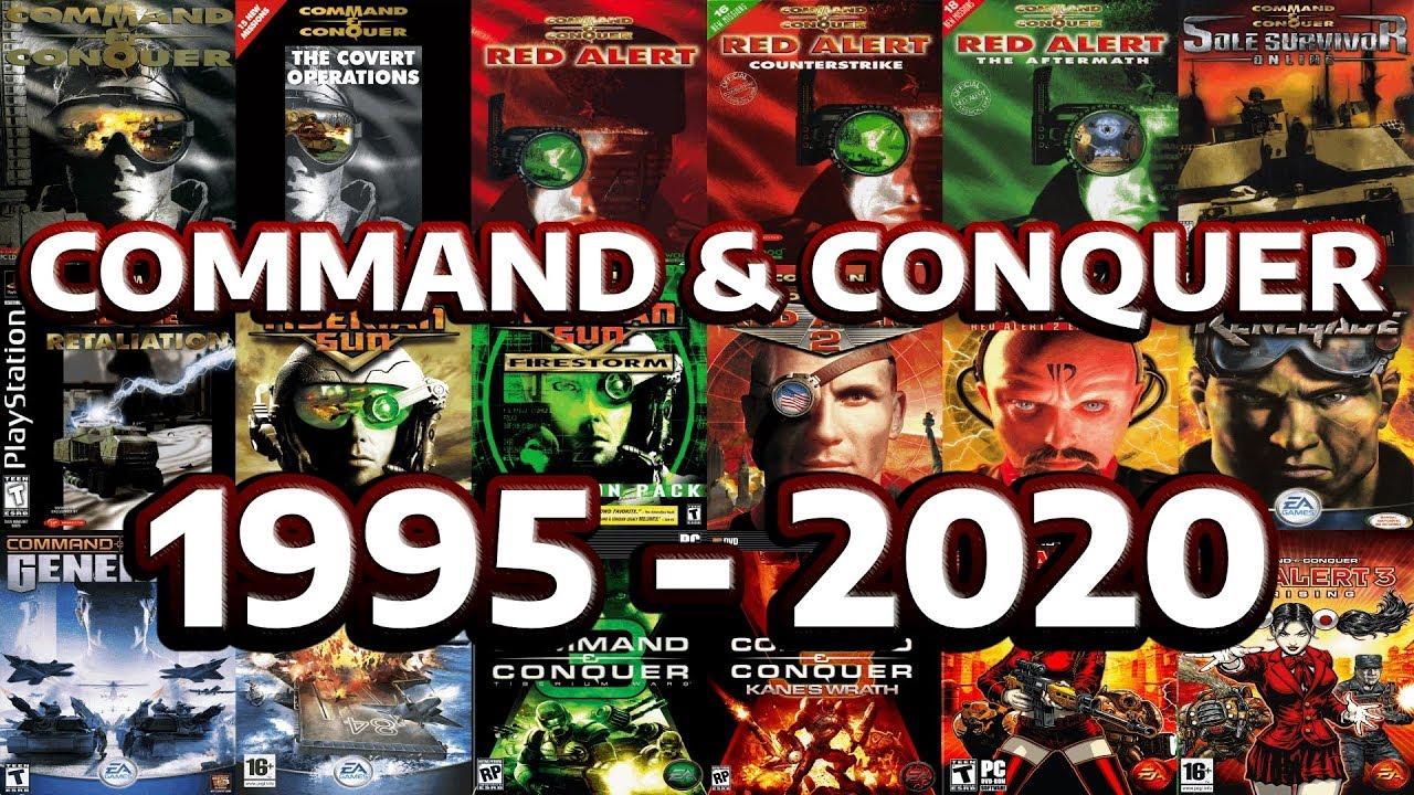 Command & Conquer Эволюция и история - 1995 - 2020