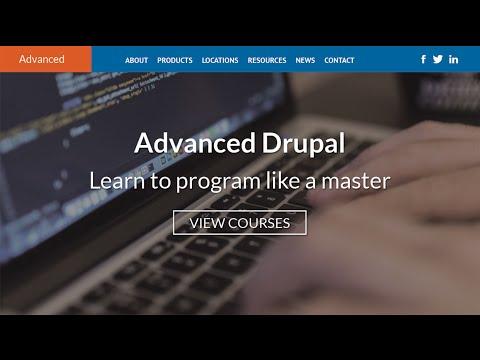 Ep. 1 - Homepage Slider - Advanced Drupal Development