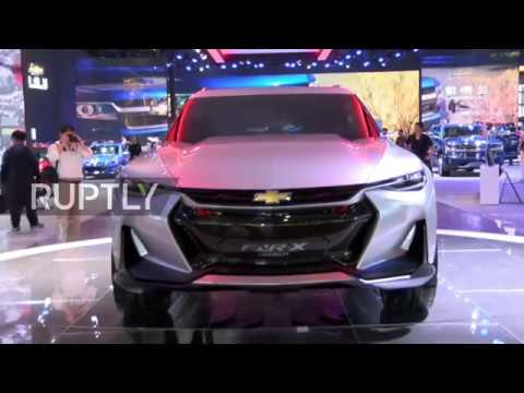 China: Chevrolet unveils stunning high-tech FNR-X concept at Shanghai Auto Show