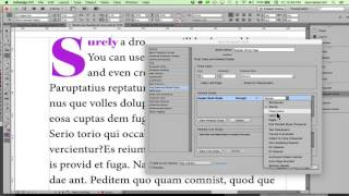 Drop Caps And Nested Paragraph Styles With InDesign