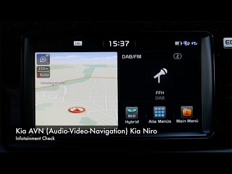 Infotainment Check Kia Niro