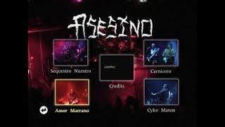 Asesino Live DVD - Amor Marrano